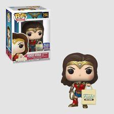 Funko Pop! Wonder Woman w/Hollywood Bag Funko Hollywood Exclus  W/Hard PROTECTOR