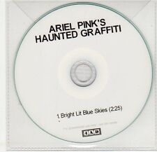 (EG299) Ariel Pink's Haunted Graffiti, Bright Lit Blue Skies - 2010 DJ CD