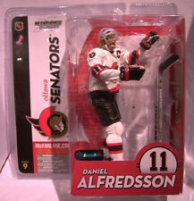 McFARLANE NHL Series # 9__DANIEL ALFREDSSON Variant figure_WHITE Ottawa Senators