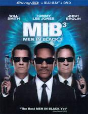 Men in Black 3 (3D/2D Blu-ray/Dvd, 2012, 3-Disc Set)