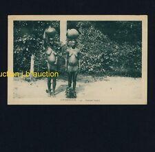 Cameroon LOMIÉ WOMEN w LOINCLOTH / NACKTE FRAUEN * 20s Ethnic Nude PC