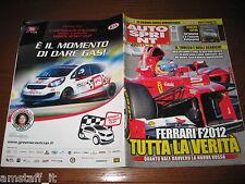 AUTOSPRINT 2012/7=FERRARI F2012=PORSCHE PANAMERA GTS=RALLY SVEZIA LATVALA=
