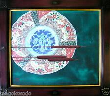 #a02,Tradition Japanese painting, Cattail (GAMA), AYAKI-IZUMI
