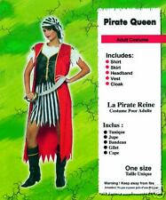 PIRATE QUEEN FEMALE WOMAN'S LADIES ADULT COSTUME FANCY DRESS