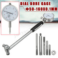 50-160mm Dial Bore Gauge Engine Cylinder Indicator Measuring Gage Test 0.01mm