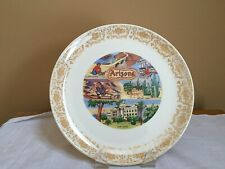 Vintage Early 1980's Arizona State Souvenir Collector Plate