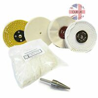 POLISHING KIT 15 FOR METALS & PLASTICS (ALL YOU NEED IS COMPOUND & A DRILL)