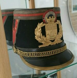 French Model 1931 Republican Guard Warrant Officer's Shako