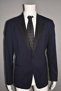 THEORY NEW $695 Chambers Wool Blend Blazer in Eclipse Blue Men's 44 Reg