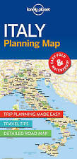 NEW Lonely Planet Italy Planning Map (Travel Guide) by Lonely Planet