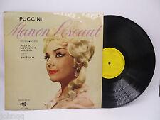 Manon Lescaut - Puccini - Qualiton LPX 1254 LP Vinyl Record - NM