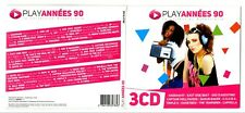 TRIPLE 3 CD ★ PLAY ANNEES 90 COMPILATION VARIOUS ARTISTS 48 TITRES ALBUM 2012 ★