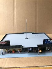 Ho Scale 1/87 Scale  Bus Station Structures/buildings Used Busses Not Included
