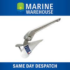 Manson Plough Anchor  Suits 6.5M Vessel  15LB 6.8KG -  Certified - HHP  6061