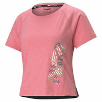 PUMA Women's Logo Elastic Training Tee