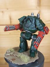 FORGE WORLD SPACE MARINE CONTEMPTOR DREANOUGHT 2 ASSAULT CANNONS PAINTED (L)