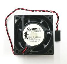 NEW Canon CF60-T212N2D 60mm x 60mm x 25mm 12V DC Cooling Fan