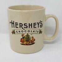 HERSHEY'S Chocolate XL 24 oz Coffee Mug Christmas Tree Holiday Tea Cup