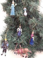 Disney Frozen Christmas tree Decorations Olaf,Anna,Elsa,Hans,Sven,Kristoff UK