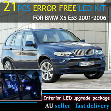 White Full Canbus Error Free LED Interior Light Kit For BMW X5 E53 2001-2006 OZ