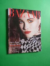 Harper's Bazaar Italy July Agosto1986 August Giorgio Armani Gianni Versace
