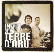 """I MUVRINI / STING: CD SINGLE """"TERRE D'ORU"""" AVEC STING"""