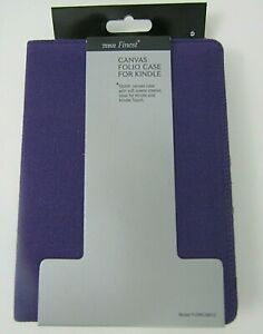 """Tesco Finest Purple Folio Case For Kindle & Kindle Touch 6"""" - Brand New"""