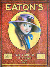VINTAGE EATON'S DEPARTMENT STORE CATALOGUES Colour Scans & More on DVD-Rom Disc