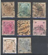 Handstamped Postage Austrian Stamps