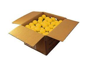 Brine Case of 120 NFHS/NOCSAE Lacrosse Balls Yellow