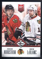 12/13 Limited Dual Rookie Redemption Joakim Nordstrom & Drew LeBlanc #425/499
