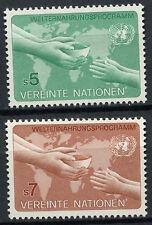 United Nations Vienna 1983 SG#V32-3 World Programme MNH Set #A91982