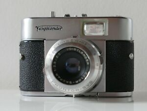 Appareil photo vintage Voigtländer Vito B—Années 50/60—Etui d'origine