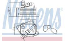 NISSENS Radiador de aceite motor Para BMW 3 MERCEDES 90688