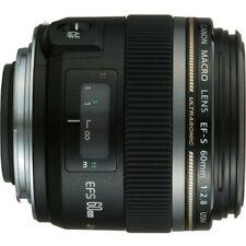 Canon EF-S 60mm f/2.8 Macro USM Lens for Canon SLR Cameras [Camera] CANON