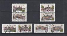 Luxus Berlin Kombinationen Block 8 - Mi-Nr. 772-775 - zentrisch gestempelt