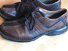 Clarks Touareg Oxford Mens Lace Up Brown Shoes #70852 Sz 9M