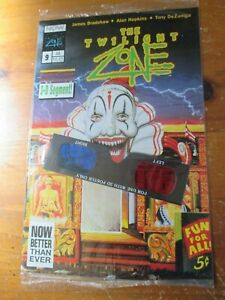 The Twilight Zone  #9  comic 1992  3-D segment sealed