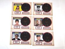 2015 PANINI AMERICANA CERTIFIED SILVER ALBUMS INSERT 6 CARD SET! COMMON COOLIO!