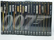 JAMES BOND 007 CELLECTION - 19 DVD FABBRI EDITORI + 2 MANCANTI NELLA COLLECTION