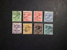 IRELAND 1922 KING GEORGE V USED STAMPS
