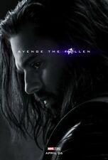 Avengers: Endgame Movie Poster (24x36) - Winter Soldier, Bucky Barnes, Stan v33