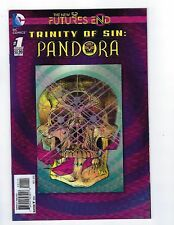 Trinity of Sin: Pandora # 1 Future's End 3D Lenticular Cover NM DC