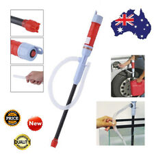 Battery Operated Electric Siphon Oil Water Petrol Liquid Transfer Pump Pipe 2018