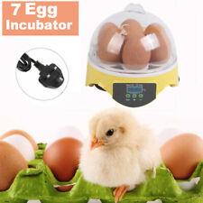 7 Eggs Capacity Chicken Egg Bird Incubator Semi-Automatic Temperature Control MA