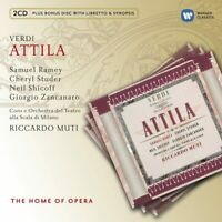 RICCARDO MUTI : VERDI : ATTILA : THE HOME OF OPERA - BRAND NEW AND SEALED CD^^^