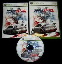 SUPERSTARS V8 RACING XBOX 360 Versione Italiana 1ª Edizione ••••• COMPLETO