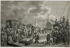 Rare Antique Print-WILHELMINA OF PRUSSIA-1795-ENGLAND-Langendijk-Roosing-1795