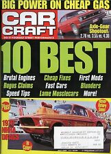 Car Craft Magazine July 2000 Power On Cheap Gas /  Axle Gear Shootout