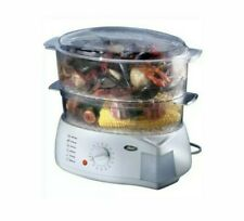 Oster 5713 Food Steamer/Rice Cooker Inspired Collection Double Tiered